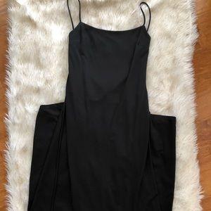 BCBG • Floor Length Black Dress • Size 4